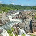 Great Falls Of The Potomac River South Falls Ds0103 by Gerry Gantt