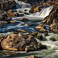 Great Falls Overlook #5 by Stuart Litoff