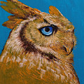 Gold Owl by Michael Creese