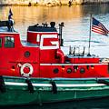 Great Lakes Towing Tug Florida by Christine Douglas
