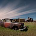 Abandoned Ford Car At Abandoned Farm by Tom Phelan