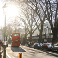 Great Russell St. In The Afternoon by Sam Garcia