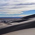 Great Sand Dunes Colorado Shadows by Kyle Hanson