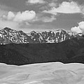 Great Sand Dunes Panorama 1 Bw by James BO  Insogna
