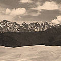 Great Sand Dunes Panorama 1 Sepia by James BO  Insogna