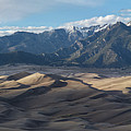 Great Sand Dunes Panorama by Aaron Spong