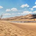 Great Sand Dunes by Terry Jackson