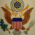 Great Seal Of The United States Of America by Jan Mecklenburg