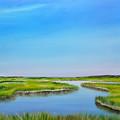 Great Sippewisset Marsh by Mimi Schlichter