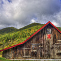 Great Smoky Mountains Barn by Reid Callaway