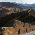 Great Wall Of China by Jed Holtzman
