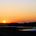 Greater Prudhoe Bay Sunrise by Anthony Jones