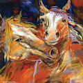 Grecos Horses by Ron Patterson