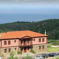 Greece Summer Vacation Landscape by Goce Risteski