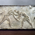 Greece: Wrestlers by Granger