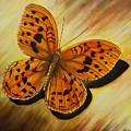 Greek Butterfly by Vivian Casey