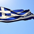 Greek Flag by Corinne Rhode