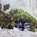 Greek Grapes by Ylli Haruni