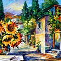 Greek Noon by Leonid Afremov