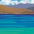 Greek Sea by Sarah Gillard