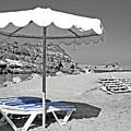 Greek Umbrella by La Dolce Vita
