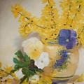 Greek Vase by Sandra Bourret