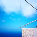Greek Windmill by Silvia Ganora