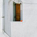 Greek Window With Tomato by Silvia Ganora