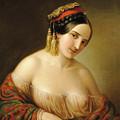 Greek Woman by Jakab Marastoni