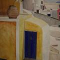 Greekscape 2 by Caron Sloan Zuger