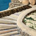 Greekscape 3 by Caron Sloan Zuger