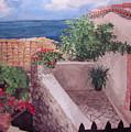 Greekscape by Caron Sloan Zuger