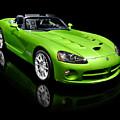 Green 2008 Dodge Viper Srt10 Roadster by Oleksiy Maksymenko