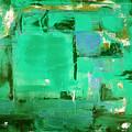 Green Abstract by Gina De Gorna