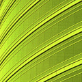 Green And Yellow Building Abstract by Tom Janca
