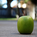 Green Apple- Photography By Linda Woods by Linda Woods