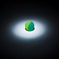Green Ball Against The Dark by Anton Suchkov
