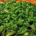 Green Bean Montage by Ron Bissett