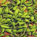Green Bean Tips by Ron Bissett