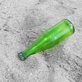 Green Beer Bottle by Helen Northcott