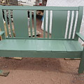 Green Bench by Frederick Holiday