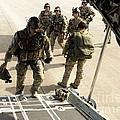Green Berets Board A C-130h3 Hercules by Stocktrek Images