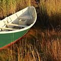 Green Boat by AnnaJanessa PhotoArt