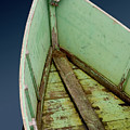 Green Boat by Brent L Ander
