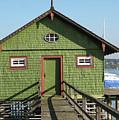 Green Boathouse by Heidi Sieber