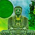 Green Buddha by Lita Kelley