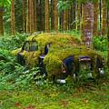 Green Car by Ulrich Burkhalter