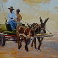 Green Cart by Yvonne Ankerman