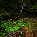 Green Cascade by Joe Comeau