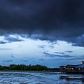 Green Cay Storm 6 by Nancy L Marshall